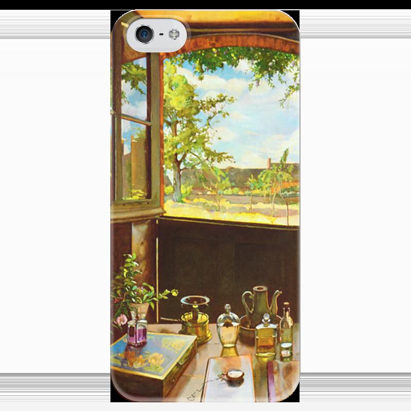 Чехол для iPhone 5 глянцевый, с полной запечаткой Printio Открытая дверь в сад чехол для iphone 6 глянцевый printio летний сад