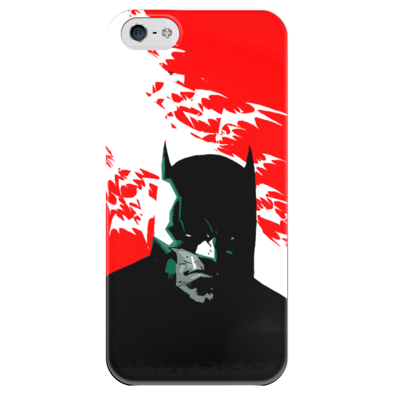 Чехол для iPhone 5 глянцевый, с полной запечаткой Printio Batman чехол для iphone 5 глянцевый с полной запечаткой printio хайзенберг