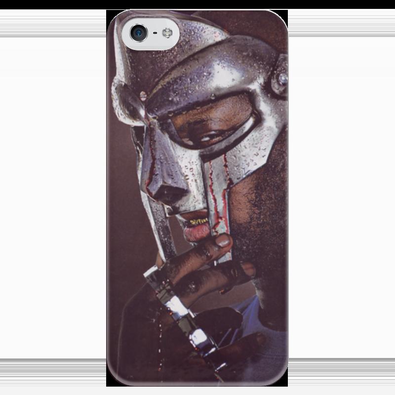 Чехол для iPhone 5 глянцевый, с полной запечаткой Printio Mf doom hip hop underground лонгслив printio mf doom