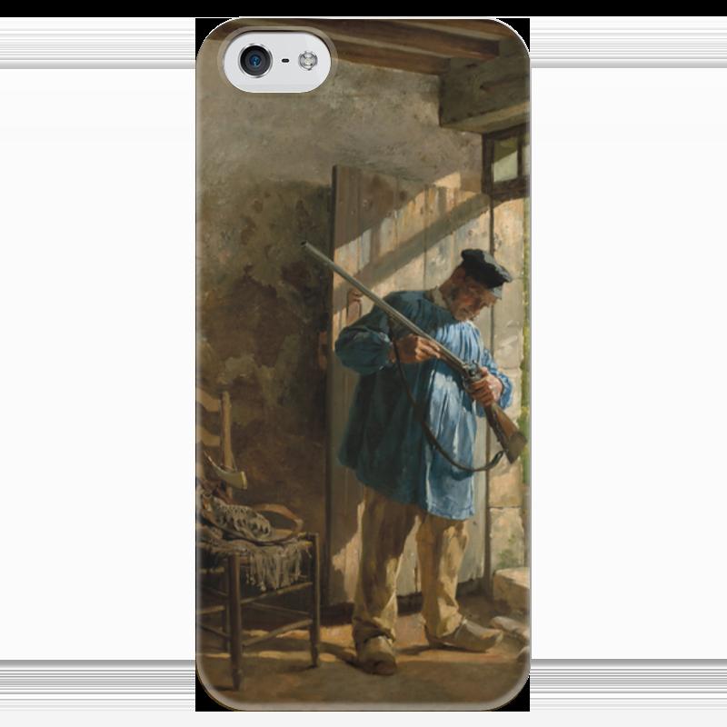 Чехол для iPhone 5 глянцевый, с полной запечаткой Printio Перед охотой (юрий шубиц) сандали ecco 821014