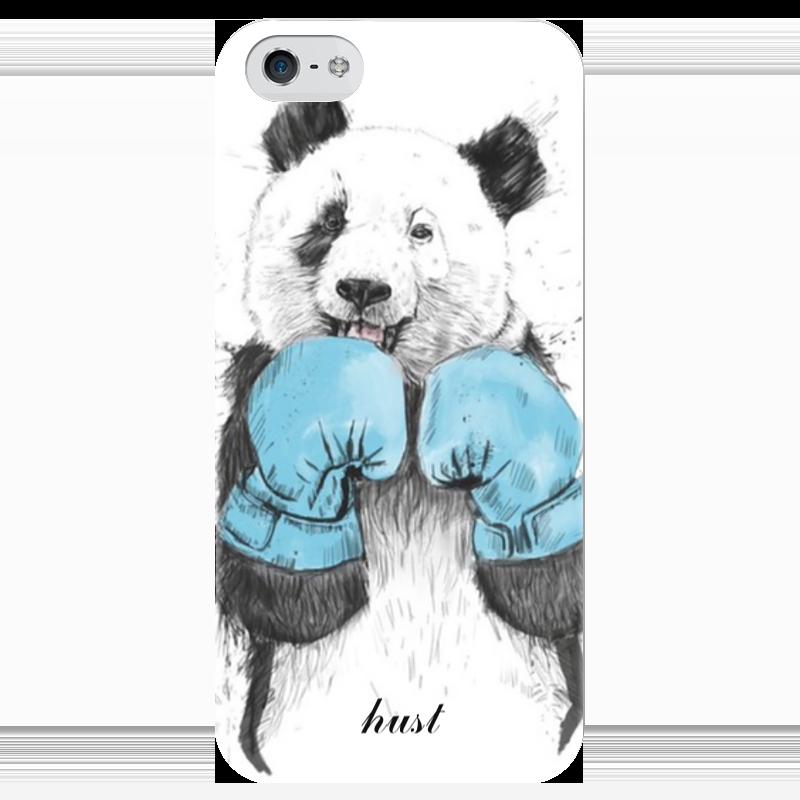 Чехол для iPhone 5 глянцевый, с полной запечаткой Printio Hgg.boxing позиционеры для сна candide позиционер с подголовником воздухопроницаемая панда air