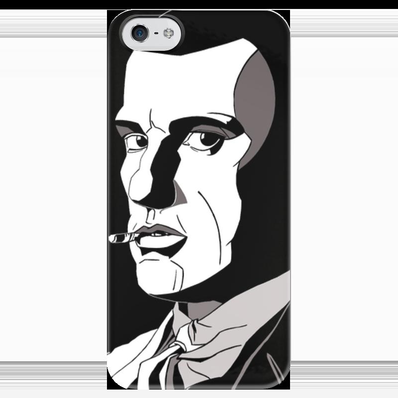 Чехол для iPhone 5 глянцевый, с полной запечаткой Printio Маяковский чехол для iphone 5 глянцевый с полной запечаткой printio ember spirit dota 2