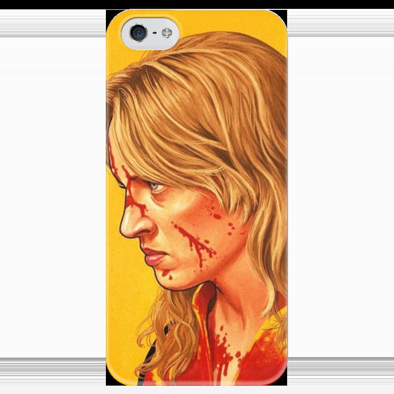 Чехол для iPhone 5 глянцевый, с полной запечаткой Printio Kill bill чехол для iphone 5 printio благодарный чехол