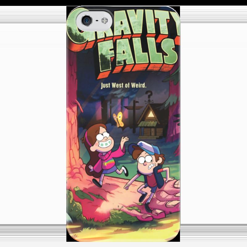 Чехол для iPhone 5 глянцевый, с полной запечаткой Printio Gravity falls / гравити фолз все цены