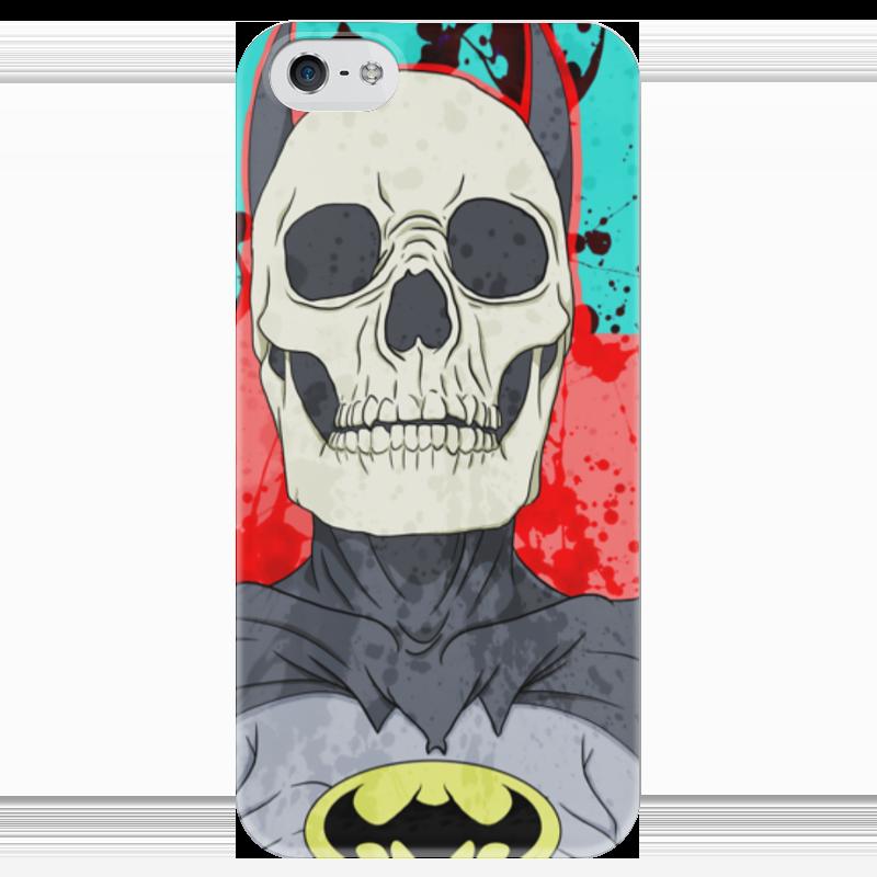 Чехол для iPhone 5 глянцевый, с полной запечаткой Printio Бэтмен чехол для iphone 5 глянцевый с полной запечаткой printio ember spirit dota 2