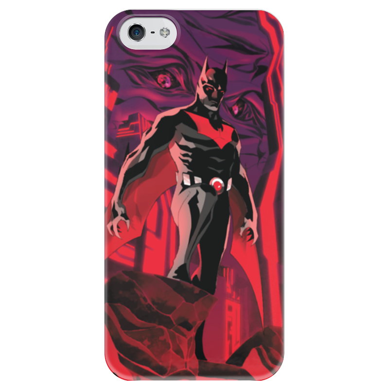Чехол для iPhone 5 глянцевый, с полной запечаткой Printio Batman beyond / бэтмен будущего batman beyond hush beyond