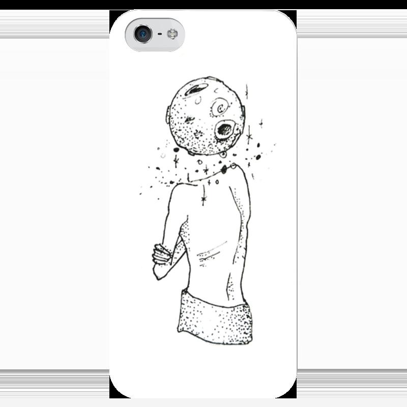 Чехол для iPhone 5 глянцевый, с полной запечаткой Printio Шаман чехол для iphone 5 глянцевый с полной запечаткой printio beardman case