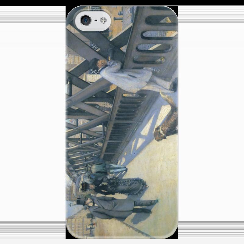 Чехол для iPhone 5 глянцевый, с полной запечаткой Printio Мост европы (картина кайботта) мост дружбы дуслык купере