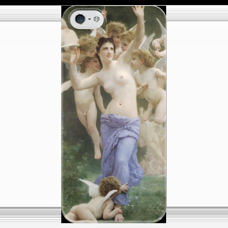 Чехол для iPhone 5 глянцевый, с полной запечаткой Printio Вторжение в королевство амуров (вильям бугро) вадим амуров игры богов