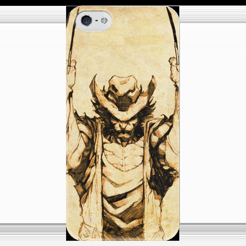 Чехол для iPhone 5 глянцевый, с полной запечаткой Printio Росомаха чехол для iphone 5 глянцевый с полной запечаткой printio ember spirit dota 2