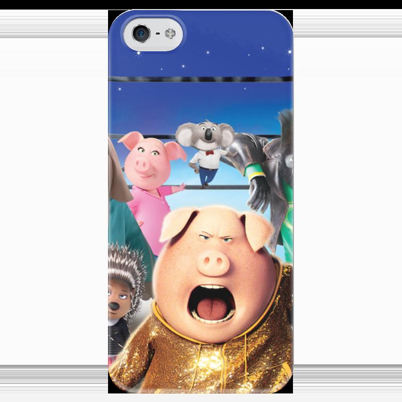 Чехол для iPhone 5 глянцевый, с полной запечаткой Printio Зверопой чехол для iphone 5 глянцевый с полной запечаткой printio ember spirit dota 2