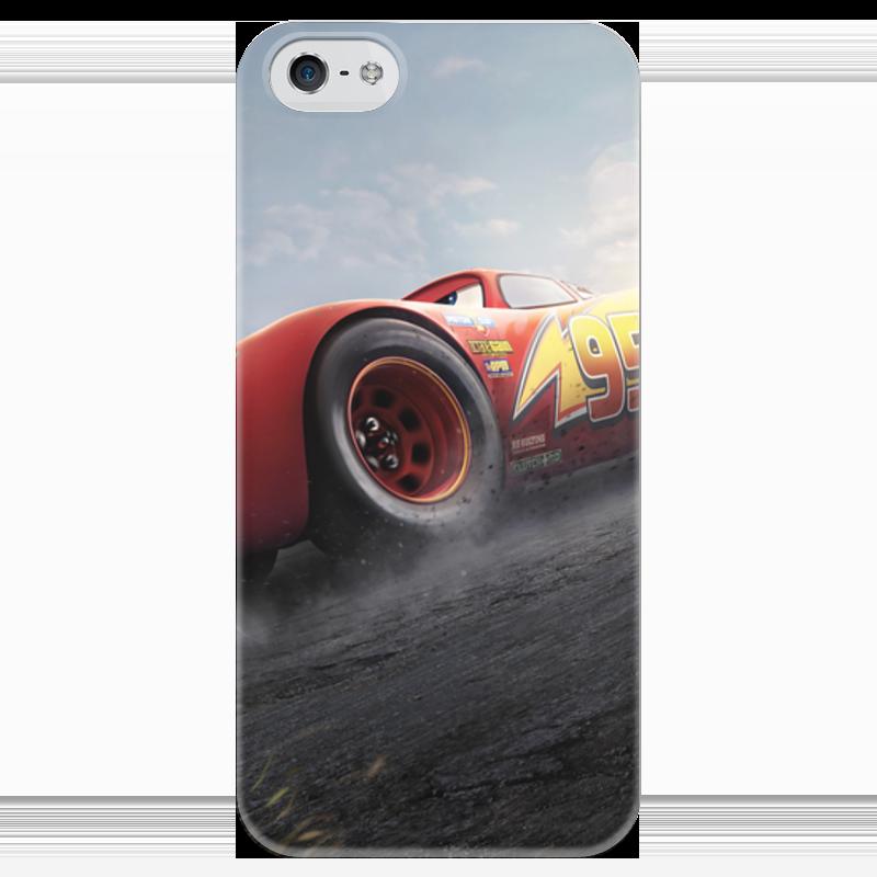 Чехол для iPhone 5 глянцевый, с полной запечаткой Printio Тачки чехол для iphone 5 глянцевый с полной запечаткой printio хлоя морец
