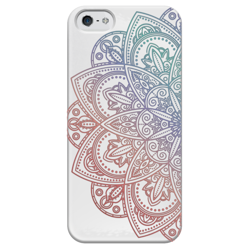 Чехол для iPhone 5 глянцевый, с полной запечаткой Printio Мандала чехол для iphone 5 глянцевый с полной запечаткой printio beardman case