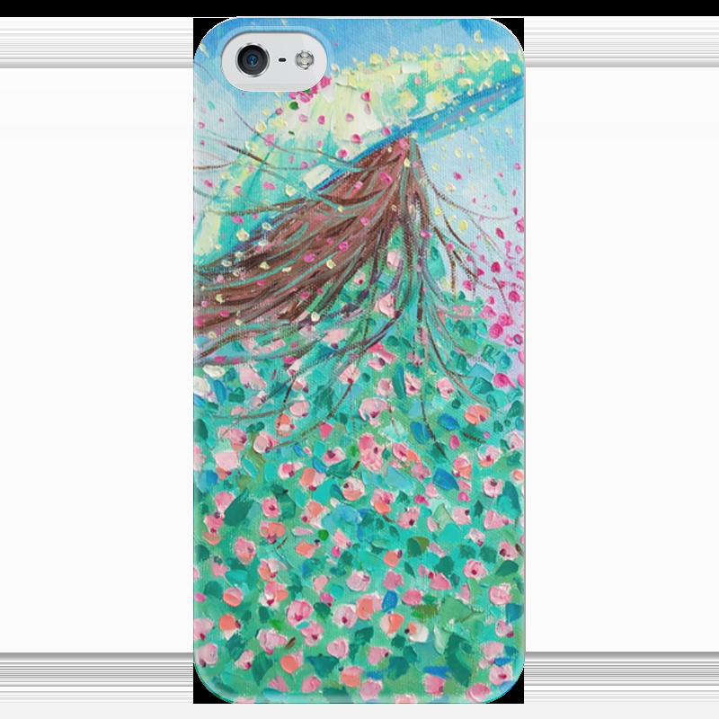 Чехол для iPhone 5 глянцевый, с полной запечаткой Printio Красавица чехол для iphone 6 глянцевый printio красавица и чудовище