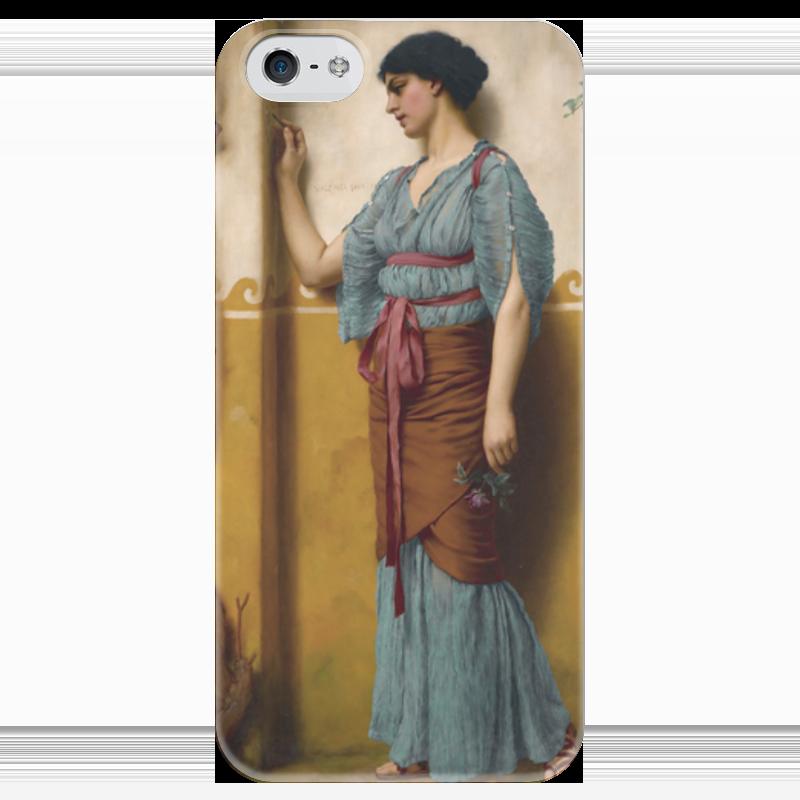 Чехол для iPhone 5 глянцевый, с полной запечаткой Printio The trysting place (джон уильям годвард) the taverner s place