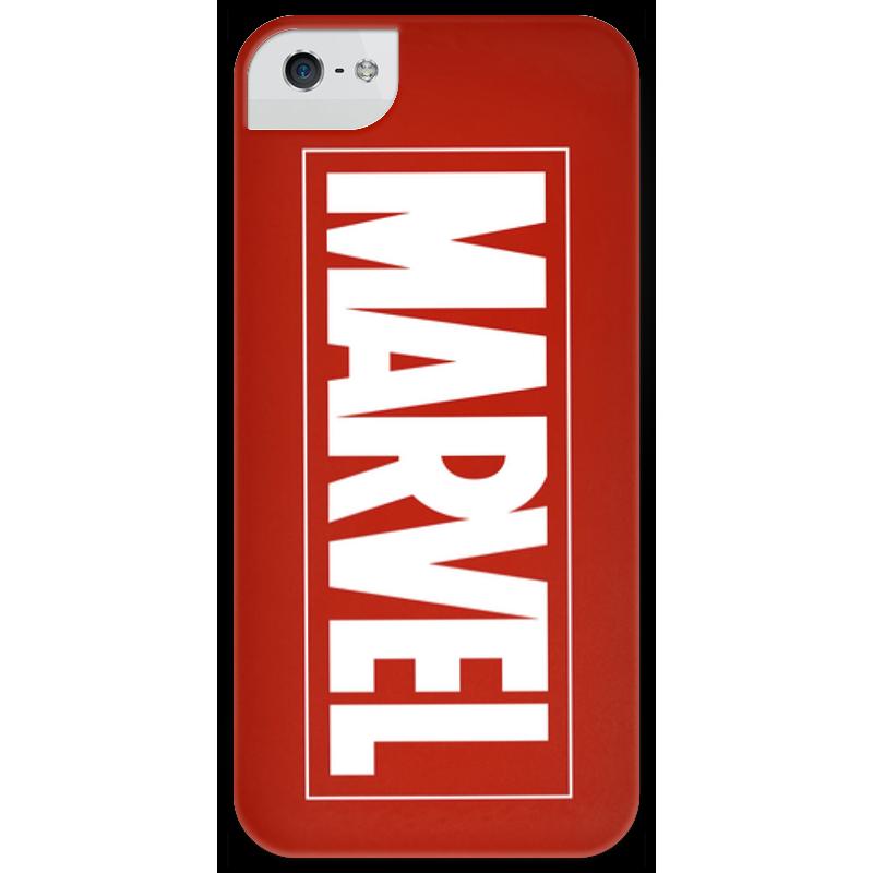 Чехол для iPhone 5 глянцевый, с полной запечаткой Printio Marvel чехол для iphone 5 глянцевый с полной запечаткой printio пилот