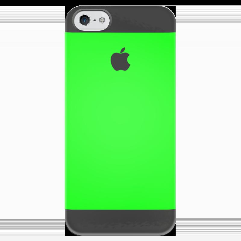 Чехол для iPhone 5 глянцевый, с полной запечаткой Printio Джунгли чехол для iphone 7 глянцевый printio джунгли