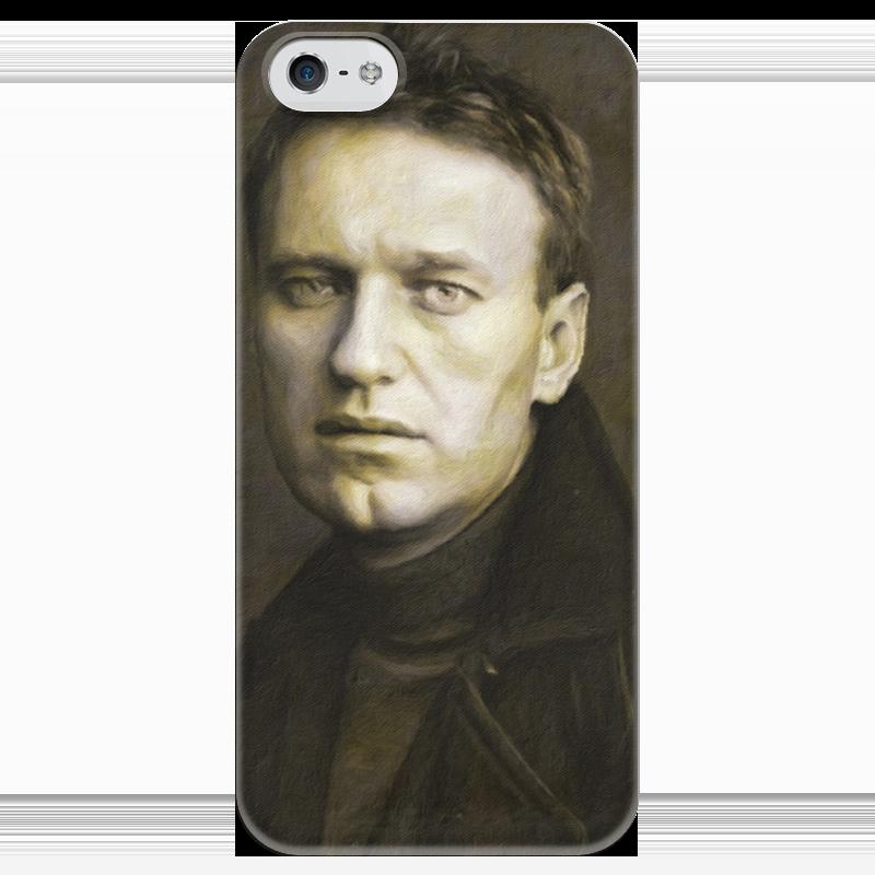 Чехол для iPhone 5 глянцевый, с полной запечаткой Printio Навальный алексей борцовка с полной запечаткой printio алексей