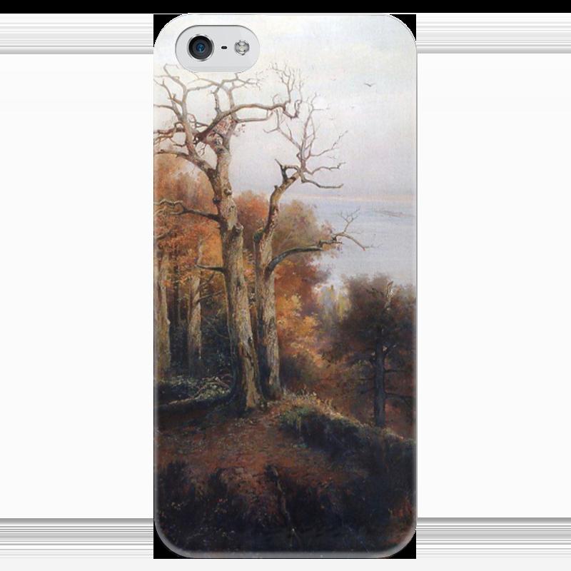Чехол для iPhone 5 глянцевый, с полной запечаткой Printio Осенний лес. кунцево. (проклятое место) толстовка с полной запечаткой printio осенний лес