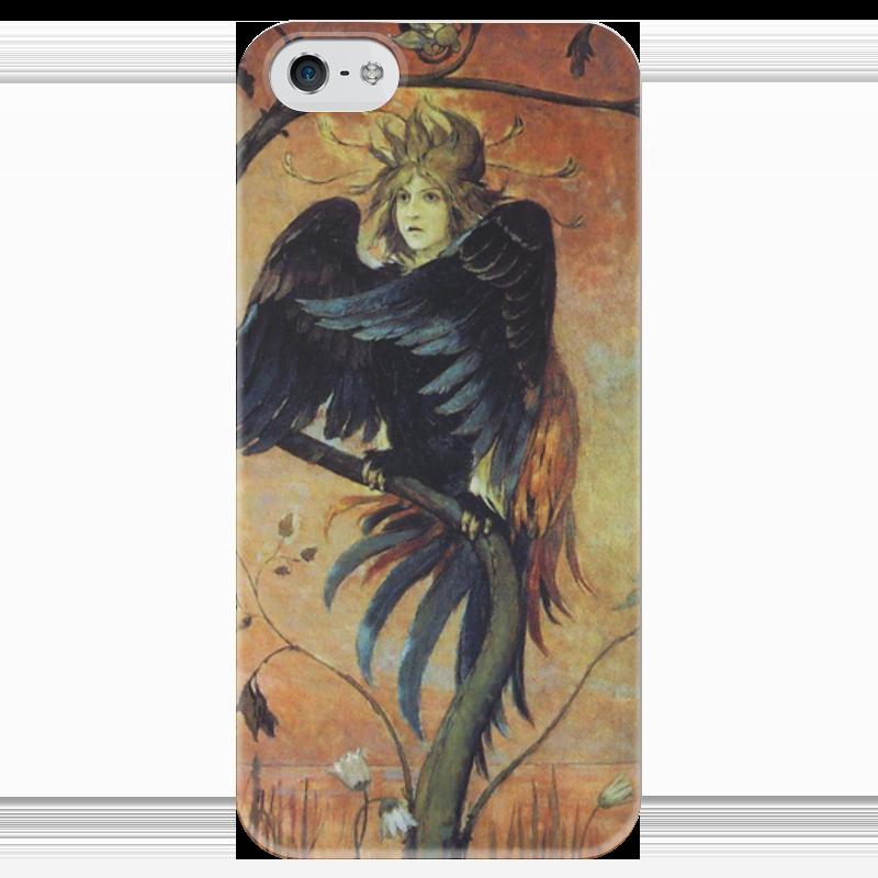 Чехол для iPhone 5 глянцевый, с полной запечаткой Printio Гамаюн, птица вещая (виктор васнецов) виктор халезов увеличение прибыли магазина