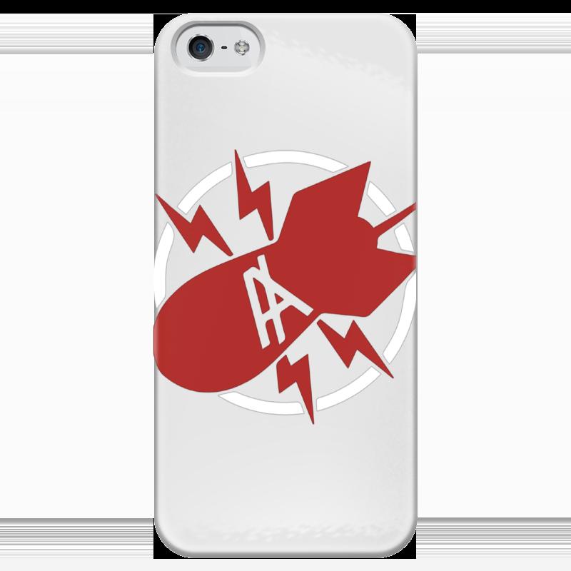 Чехол для iPhone 5 глянцевый, с полной запечаткой Printio Антихайп чехол для iphone 5 глянцевый с полной запечаткой printio beardman case