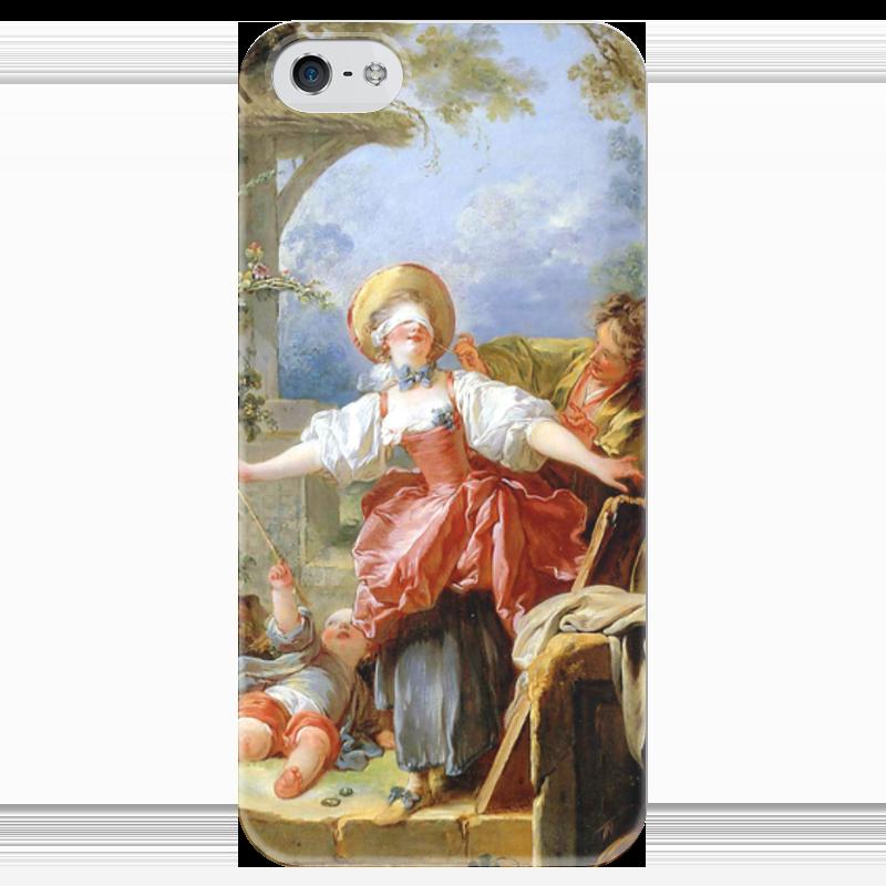 Чехол для iPhone 5 глянцевый, с полной запечаткой Printio Игра в прятки чехол для iphone 5 глянцевый с полной запечаткой printio флаг пророка жан леон жером