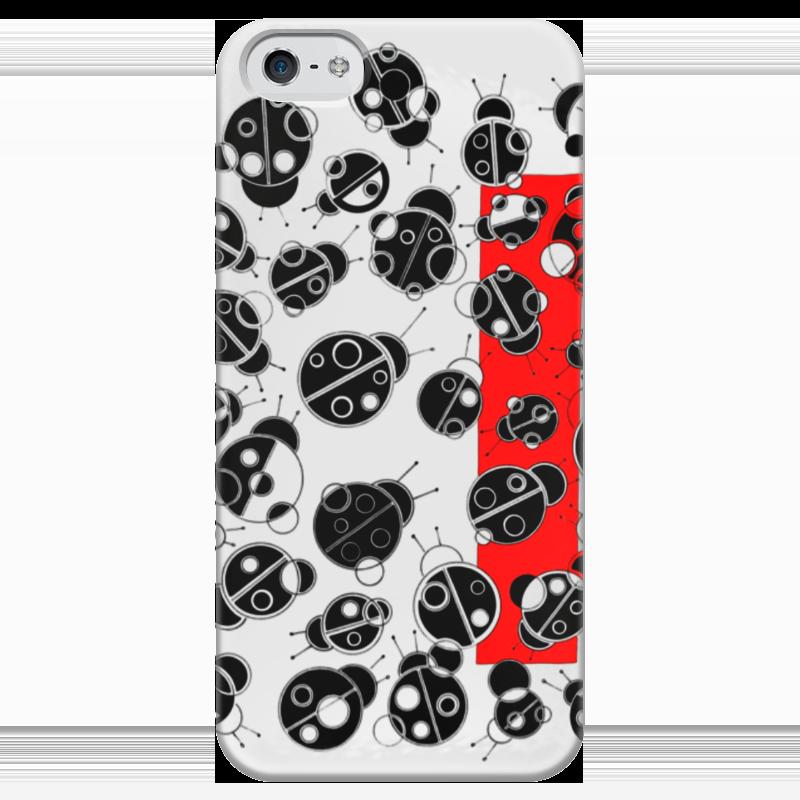 Чехол для iPhone 5 глянцевый, с полной запечаткой Printio Коровушка чехол для iphone 5 глянцевый с полной запечаткой printio пилот