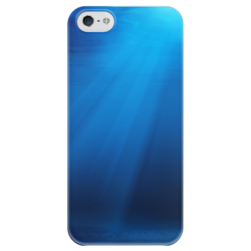 Чехол для iPhone 5 глянцевый, с полной запечаткой Printio Подводный мир набор для ванны подводный мир 55390