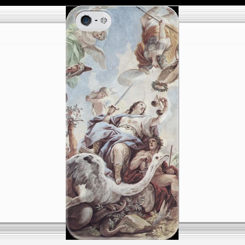 Чехол для iPhone 5 глянцевый, с полной запечаткой Printio Правосудие (лука джордано)