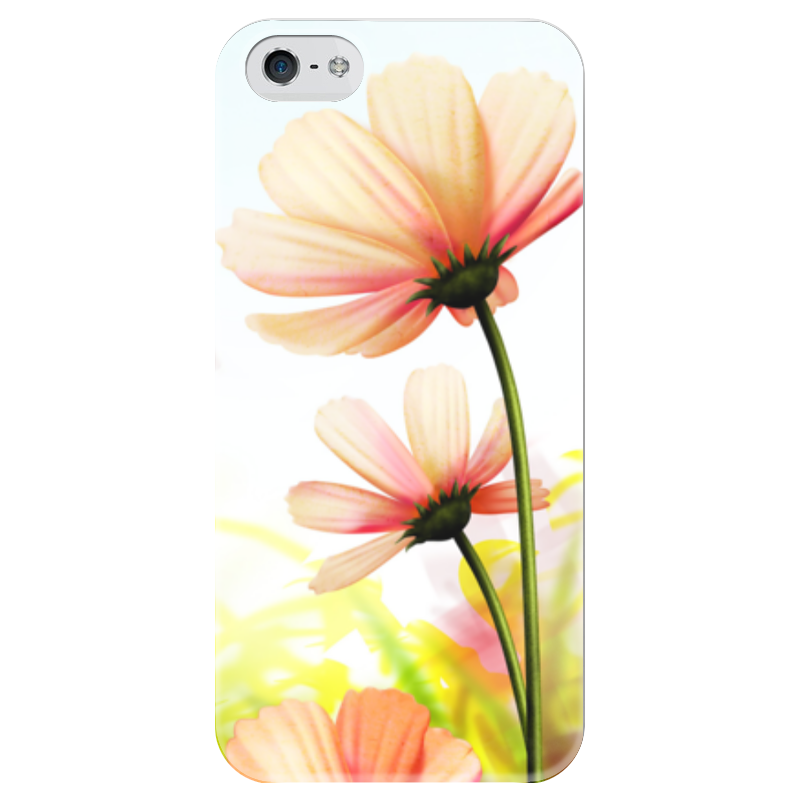 Чехол для iPhone 5 глянцевый, с полной запечаткой Printio Привет от лета василий алферов на исходе лета