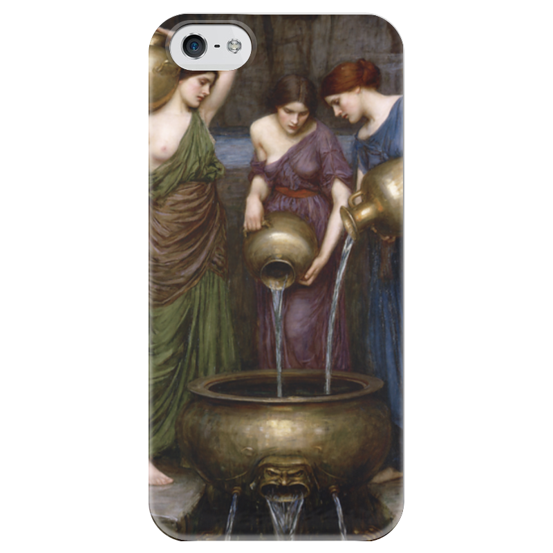 Чехол для iPhone 5 глянцевый, с полной запечаткой Printio Данаиды (джон уильям уотерхаус) чехол для iphone 6 глянцевый printio цирцея предлагает чашу улиссу джон уотерхаус