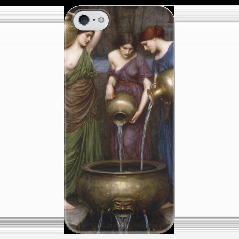 Чехол для iPhone 5 глянцевый, с полной запечаткой Printio Данаиды (джон уильям уотерхаус) уильям пол янг ева