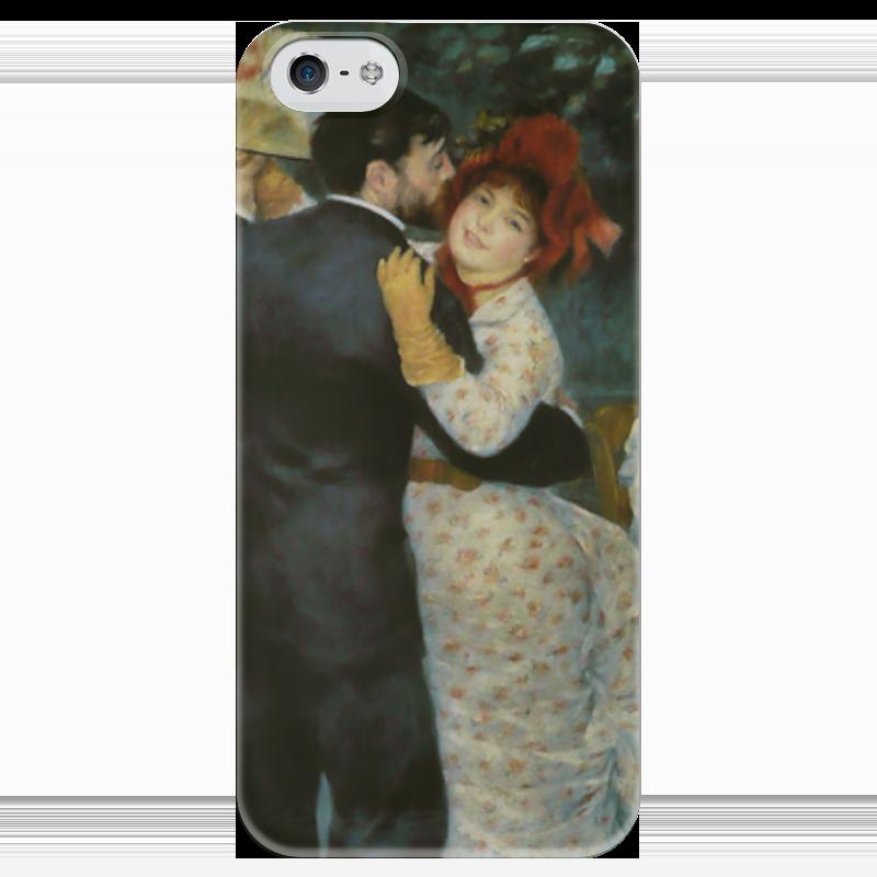 Чехол для iPhone 5 глянцевый, с полной запечаткой Printio Танец в деревне (пьер огюст ренуар) чехол для iphone 6 глянцевый printio бал в мулен де ла галетт ренуар