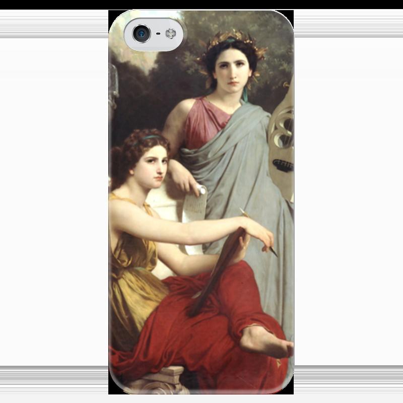 Чехол для iPhone 5 глянцевый, с полной запечаткой Printio Искусство и литература (вильям бугро) художественная литература для 9 лет
