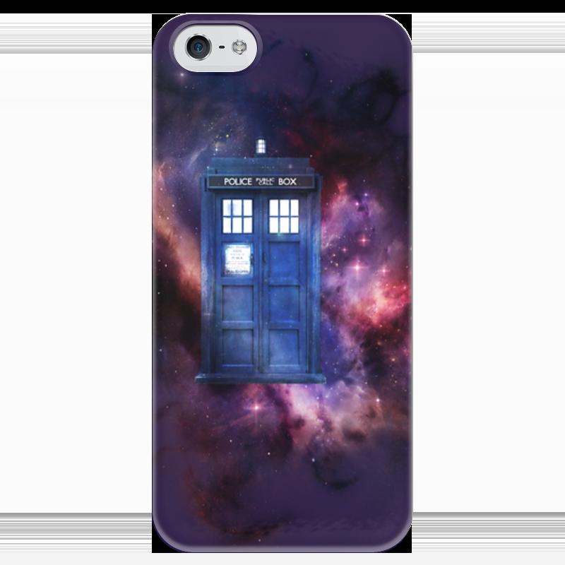 Чехол для iPhone 5 глянцевый, с полной запечаткой Printio Doctor who чехол для iphone 7 глянцевый printio doctor who x abbey road