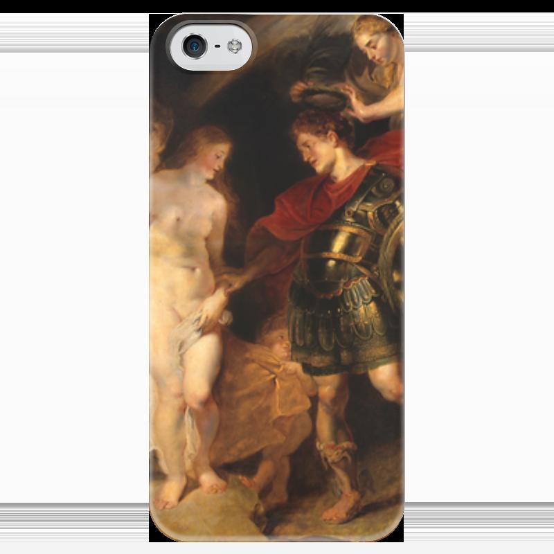 Чехол для iPhone 5 глянцевый, с полной запечаткой Printio Персей и андромеда (рубенс) экран для ванны triton персей торцевой