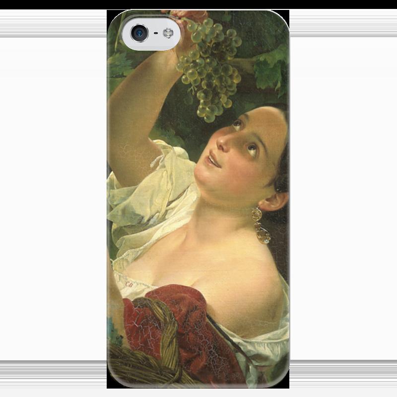 Чехол для iPhone 5 глянцевый, с полной запечаткой Printio Итальянский полдень (картина карла брюллова) петр орловец приключения карла фрейберга