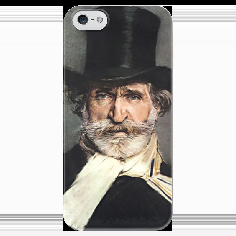 Чехол для iPhone 5 глянцевый, с полной запечаткой Printio Портрет джузеппе верди концерт джузеппе верди известный и неизвестный