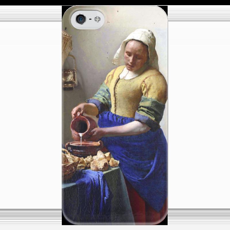 Чехол для iPhone 5 глянцевый, с полной запечаткой Printio Молочница (картина вермеера) лопе де вега девушка с кувшином