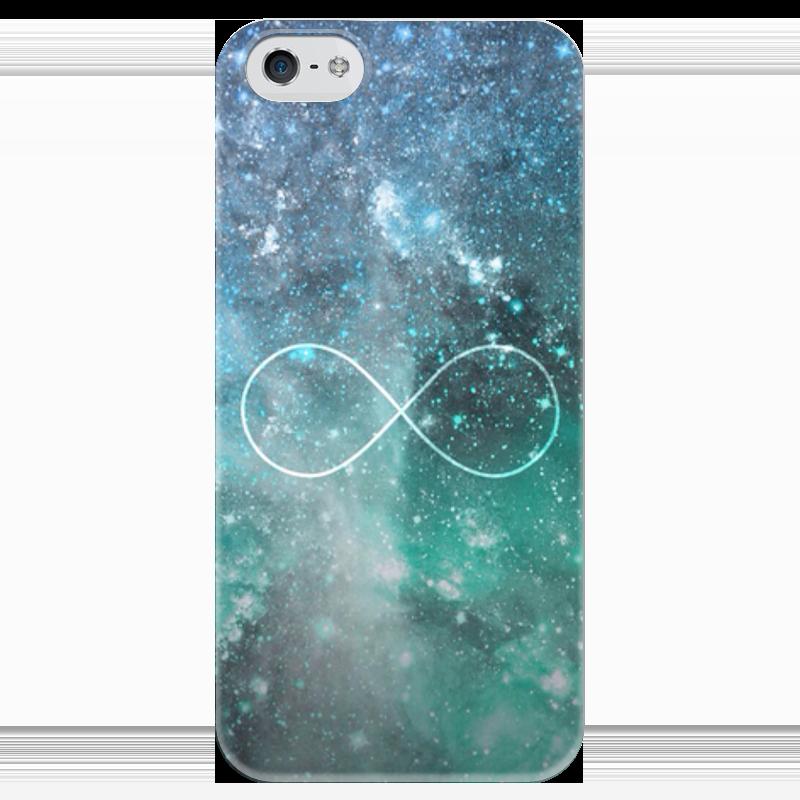 Чехол для iPhone 5 глянцевый, с полной запечаткой Printio Бесконечность чехол для iphone 5 глянцевый с полной запечаткой printio эфиопка