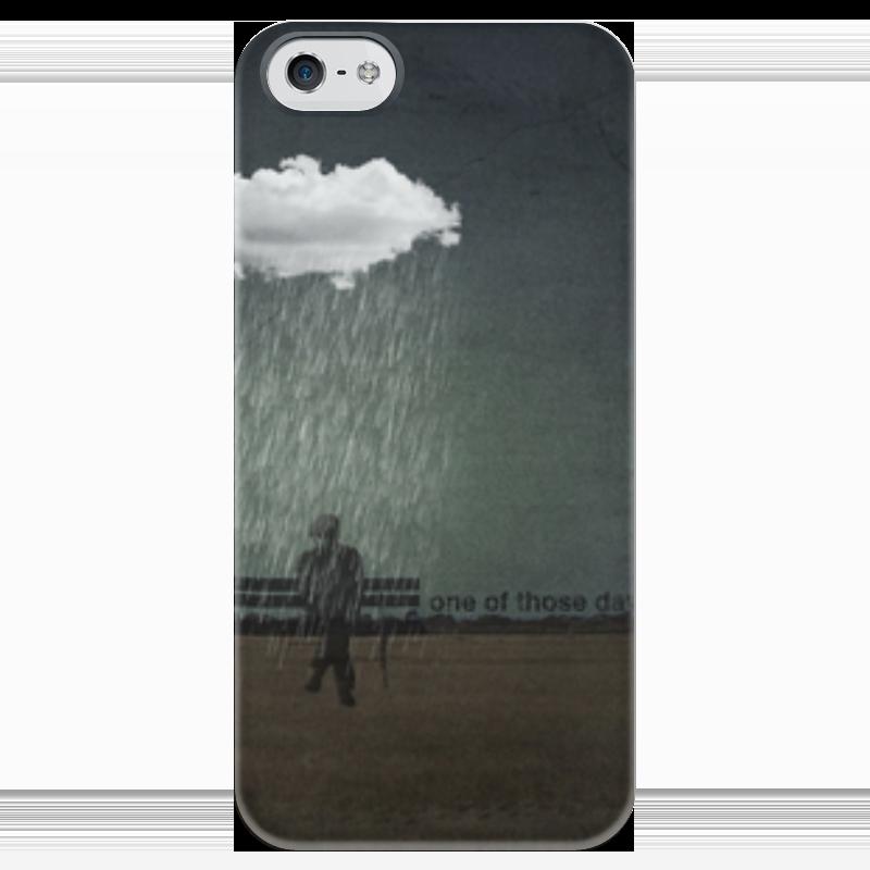 Чехол для iPhone 5 глянцевый, с полной запечаткой Printio One of those day чехол для iphone 5 глянцевый с полной запечаткой printio twenty one pilots