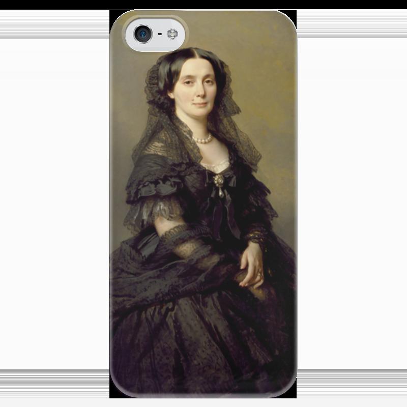 Чехол для iPhone 5 глянцевый, с полной запечаткой Printio Княгиня елена павловна кочубей елена александровна власова ряды