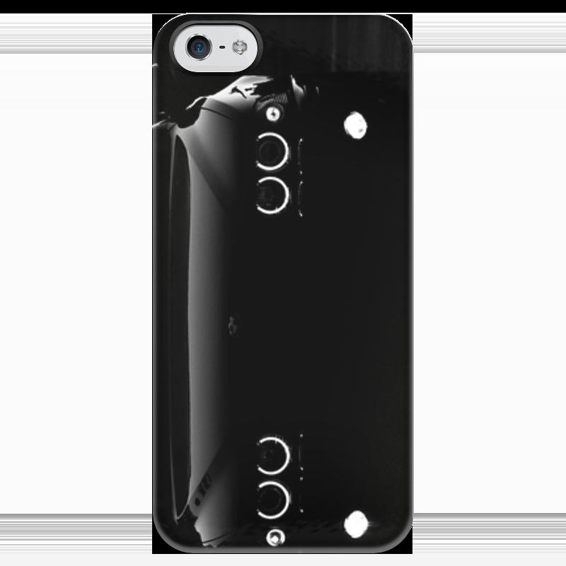 Чехол для iPhone 5 глянцевый, с полной запечаткой Printio Bmw e39 angel eyes angel eyes halo 5w led кольцо лампочки для bmw x5 e39 e60 e63 e64 e53 white