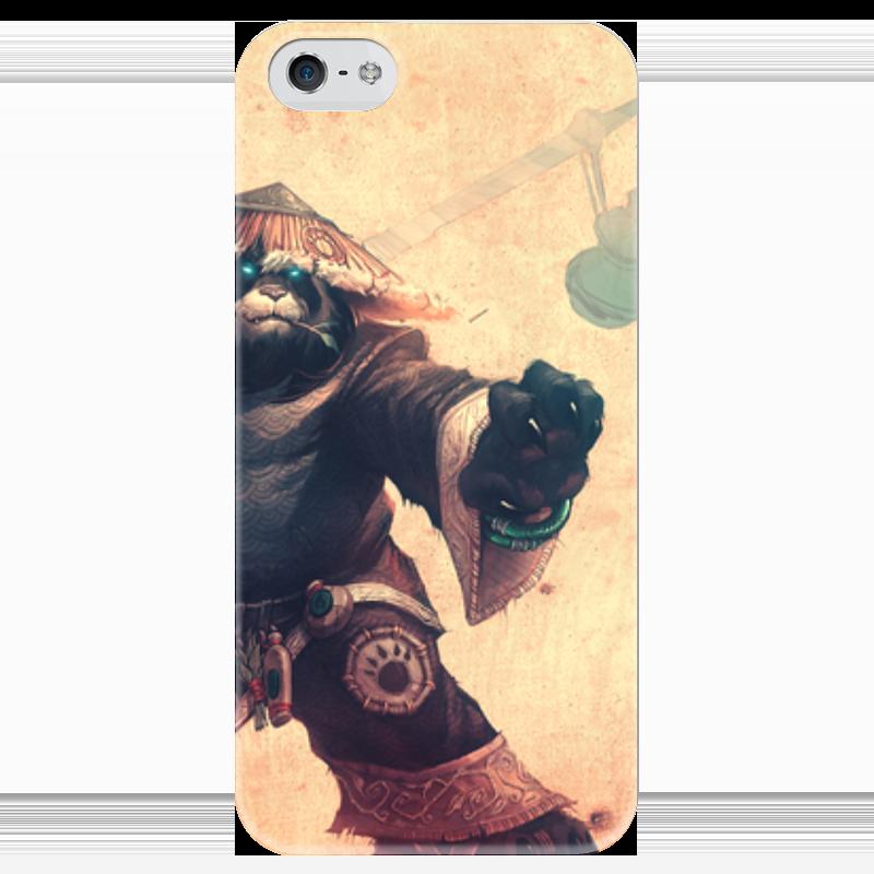 Чехол для iPhone 5 глянцевый, с полной запечаткой Printio Warcraft collection: panda чехол для iphone 4 глянцевый с полной запечаткой printio warcraft collection panda