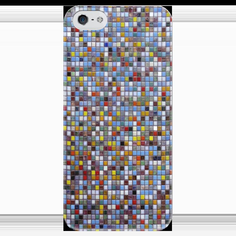 Чехол для iPhone 5 глянцевый, с полной запечаткой Printio Мозаика чехол для iphone 5 глянцевый с полной запечаткой printio пилот