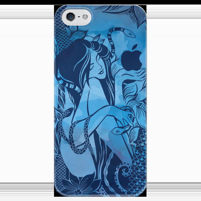 Чехол для iPhone 5 глянцевый, с полной запечаткой Printio Сад наслаждений чехол для iphone 6 глянцевый printio летний сад