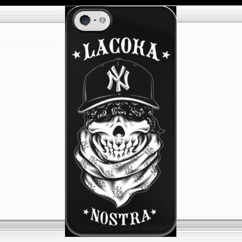 Чехол для iPhone 5 глянцевый, с полной запечаткой Printio la coka nostra футболки la coka nostra в спб