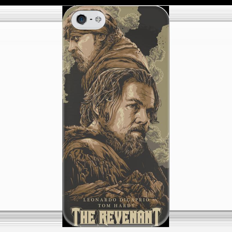 Чехол для iPhone 5 глянцевый, с полной запечаткой Printio The revenant the revenant