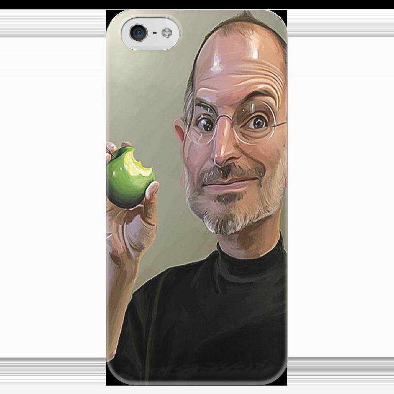 Чехол для iPhone 5 глянцевый, с полной запечаткой Printio Сти́вен пол джобс чехол для iphone 4 глянцевый с полной запечаткой printio эфиопка