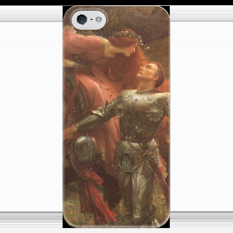 Чехол для iPhone 5 глянцевый, с полной запечаткой Printio Безжалостная красавица (фрэнк бернард дикси) чехол для iphone 6 глянцевый printio красавица и чудовище